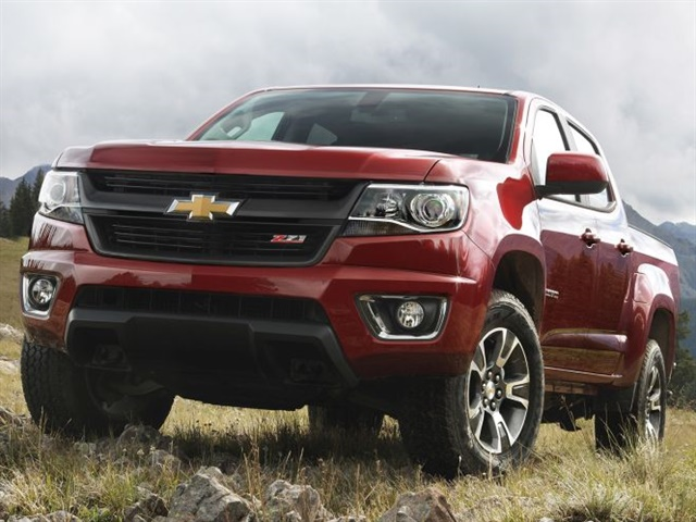 Photo of 2015 Chevrolet Colorado courtesy of GM.