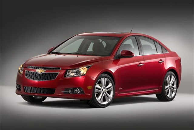 Photo of 2014 Chevrolet Cruze courtesy of GM.