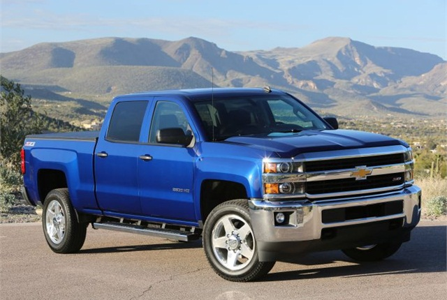 Photo of 2016 Chevrolet Silverado LT Z71 courtesy of GM.