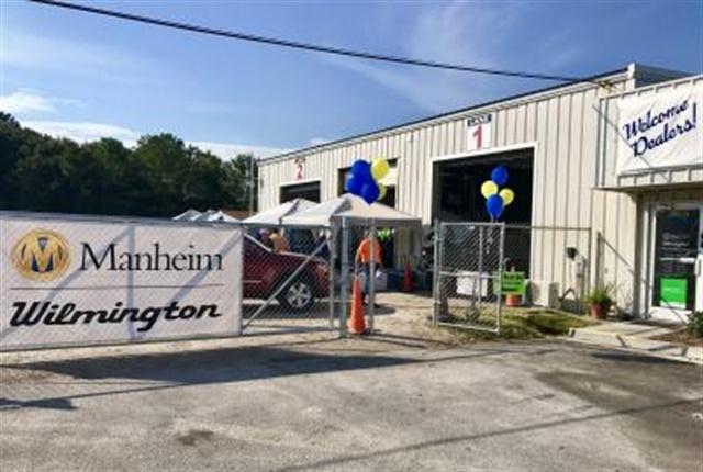 Photo of the Manheim Wilmington grand opening courtesy of Manheim.