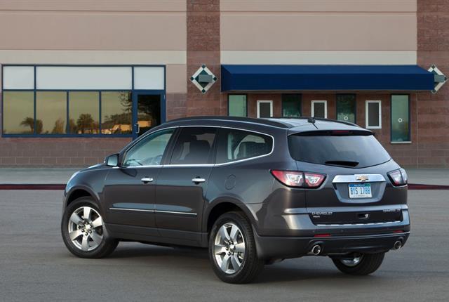 Photo of Chevrolet Traverse courtesy of GM.