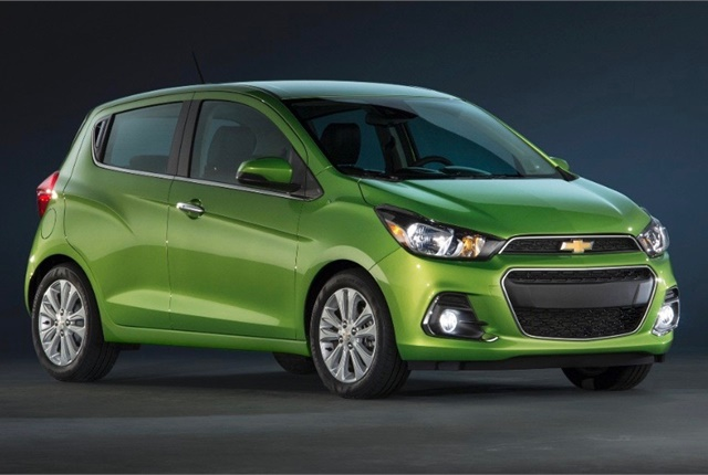 Photo of Chevrolet Spark courtesy of General Motors.