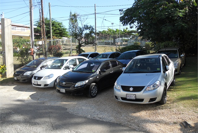 The most popular rental cars at Danjor are the Toyota Yaris and Corolla.