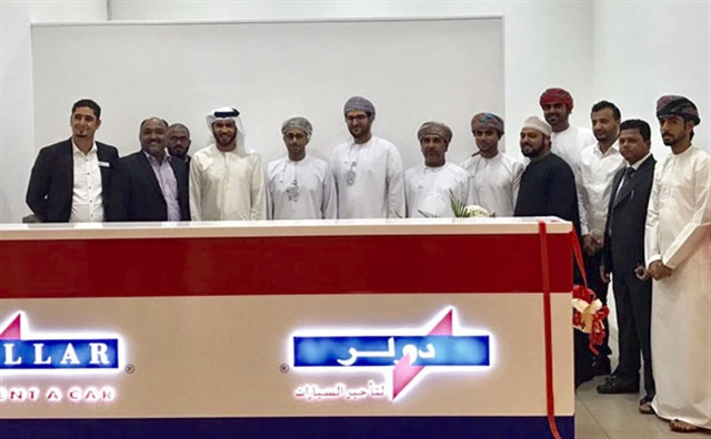 Dollar Rent A Car has opened a new branch at Oman's Muscat International Airport. Photo courtesy of Dollar Rent A Car.