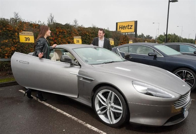 Hertz is launching its Dream Collection of luxury rentals in the U.K. Photo courtesy of The Hertz Corp.