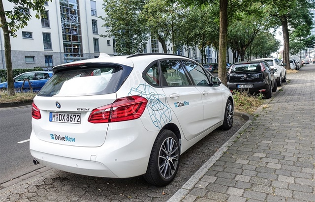 Photo courtesy of DriveNow