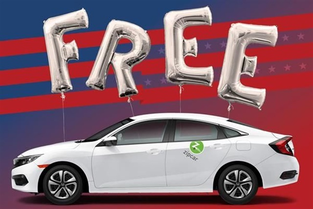 Photo courtesy of Zipcar