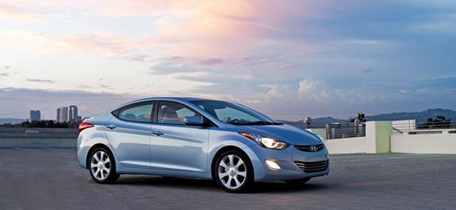 Hyundai is recalling 2011-2012 model-year Elantra cars for unexpected braking. Photo courtesy of Hyundai.