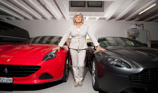 Graziella Zanoletti, founder of Elite Rent-a-Car.