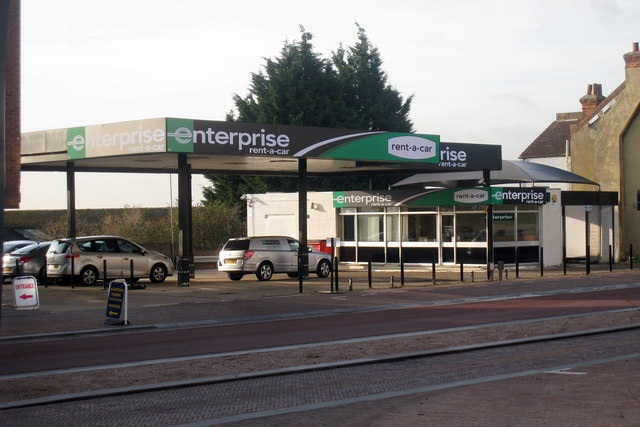 A Enterprise Rent-A-Car location in England. Photo via www.geograph.org.uk.