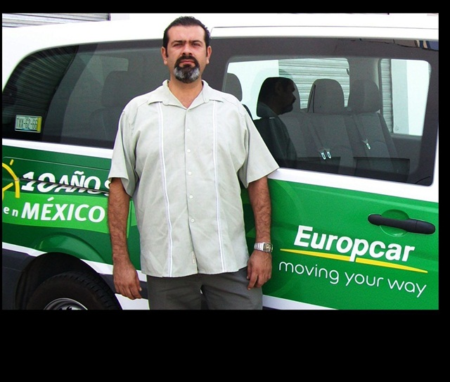Gerardo Robles is the director of operations in Northeast Mexico for Europcar Mexico.