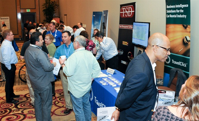The event offered several opportunities for attendees to network with various vendors in the exhibit hall. Photo by Joseph Cancellare.