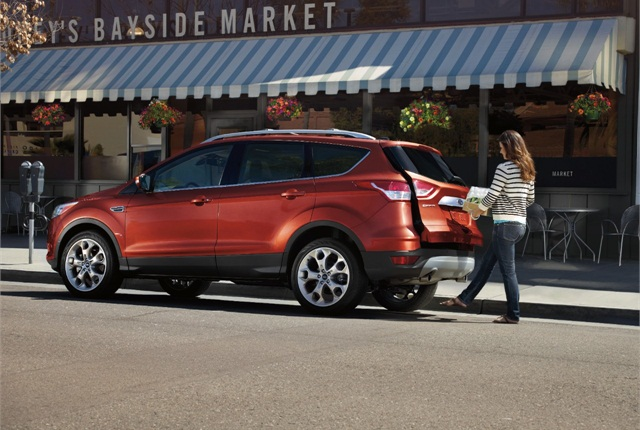 Photo of 2014 Ford Escape courtesy of Ford Motor Co.
