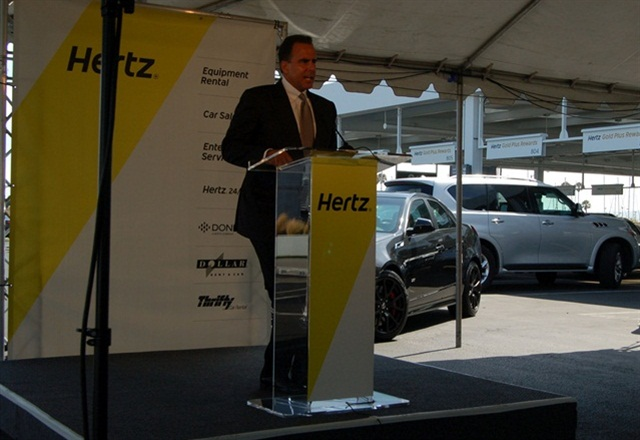 Mark Frissora, former CEO and chairman of Hertz, has been named the new CEO of Caesars Entertainment Corp. Photo by Amy Winter.