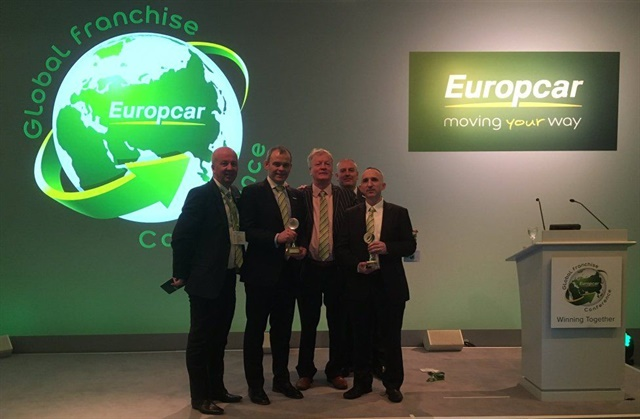 Europcar Ireland was recognized for its website and technology systems at Europcar's global conference. Photo courtesy of Europcar Ireland.