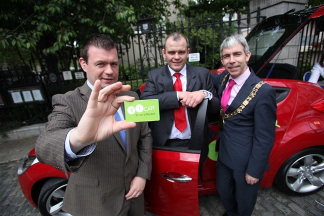 GoCar's launch in Dublin in 2012. Photo via Wikimedia.