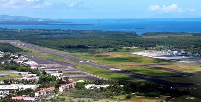 One of Avis Antilles locations is at the Guadeloupe Airport. Photo via Wikimedia.