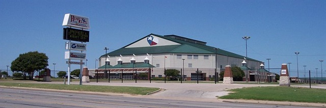 The revenue from the proposed rental and hotel taxes would go twoard funding events at Waco's Extraco Events Center. Photo via Wikimedia
