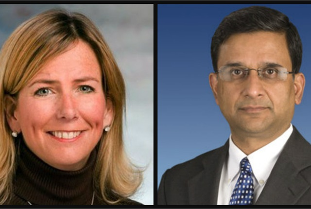 Jodi Allen (left) as been named as Hertz's new chief marketing officer and Murali Kuppuswamy (right) has been appointed as Hertz's new chief human resources officer. Photos courtesy of Hertz Global Holdings Inc.