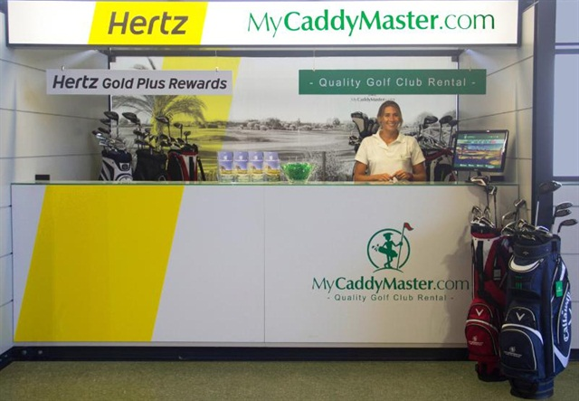Hertz has partnered with MyCaddyMaster to offer a combined car and golf equiment rental package in Portugal. Photo courtesy of Hertz Corp.
