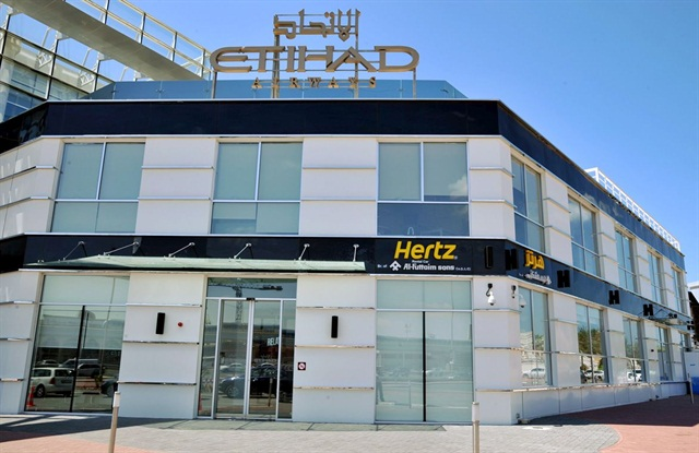 Hertz UAE has opened a new location at Dubai's Etihad Travel Mall. Photo credit: Hertz UAE