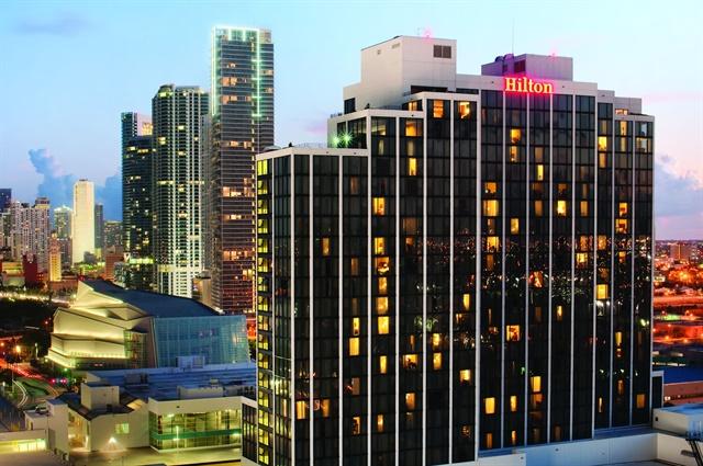 Auto Rental Summit will take place Nov. 6-7 at Miami Hilton Downtown. Photo courtesy of Miami Hilton Downtown.