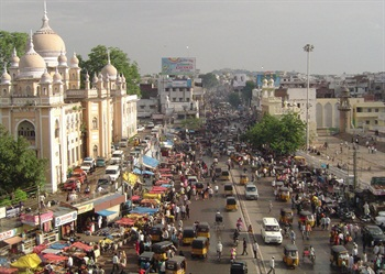 Revv, an Indian-based carsharing service, has expanded to the city of Hyderabad in southern India. Photo via Wikimedia.