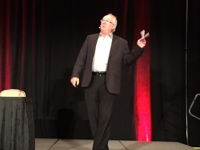 Bill Marmion presented during ACRA's general session. Photos by Amy Hercher.