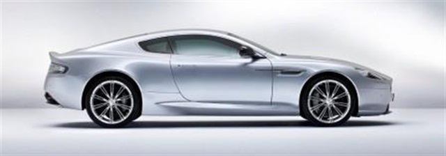 Aston Martin DB9. Photo courtesy of Enterprise Holdings.