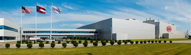Kia Motors Manufacturing in Georgia. Photo via Kia Motors America.