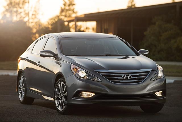 Photo of Hyundai Sonata courtesy of Hyundai.
