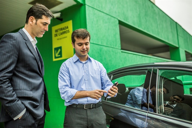 Localiza has launched its self-service rental service: Localiza Fast. Photo courtesy of Localiza.