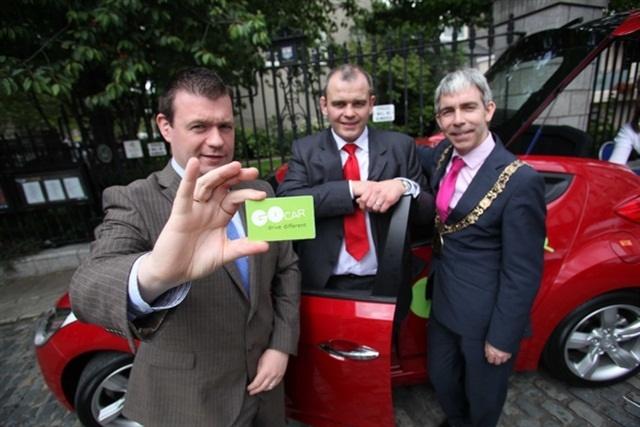 GoCar's launch in Dublin in 2012. Photo via Wikimedia.
