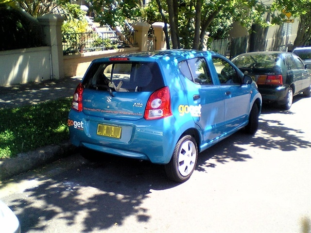 GoGet carsharing in Sydney. Photo via Wikimedia.