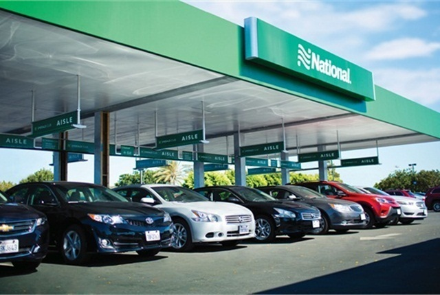 National Car Rental topped a survey by Business Travel News. Photo courtesy of National Car Rental.