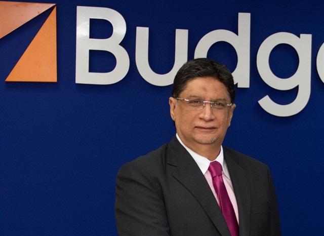 Salim Damji, senior general manager at Budget UAE.