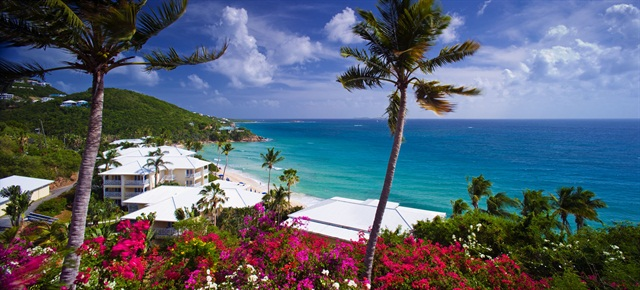 The Marriot Resort Frenchman's Reef in St. Thomas, U.S. Virgin Islands. Photo courtesy of Marriot.