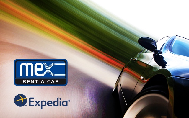 Mex Rent A Car is now listed on Expedia and its other websites. Photo courtesy of Mex Rent A Car.