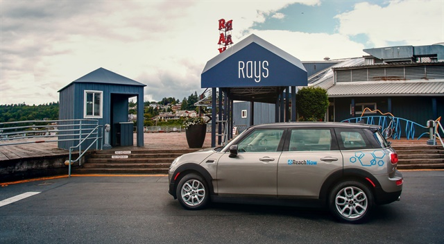ReachNow has added 150 MINI Clubman vehicles to its Seattle fleet. Photo courtesy of BMW Group.