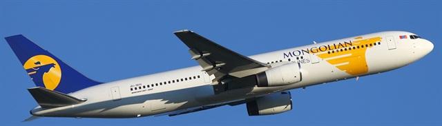 MIAT Mongolian Airlines. Photo via Wikimedia.