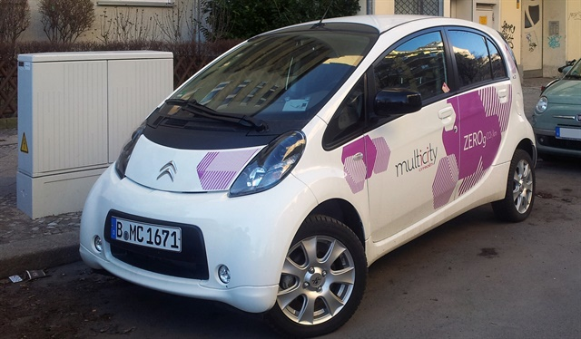 One of Citroen Multicity Carsharing's vehicles in Berlin. Photo via Wikimedia