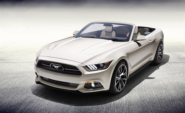 The Ford Mustang convertible is one of the new vehicles added to Action Car Rental's fleet. Photo credit: Ford.