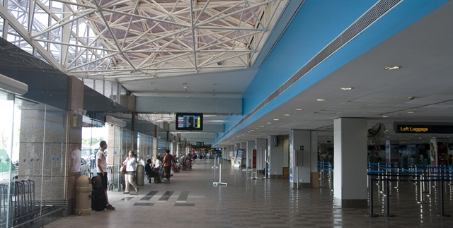 Fiji's Nadi International Airport. Photo via Wikimedia.