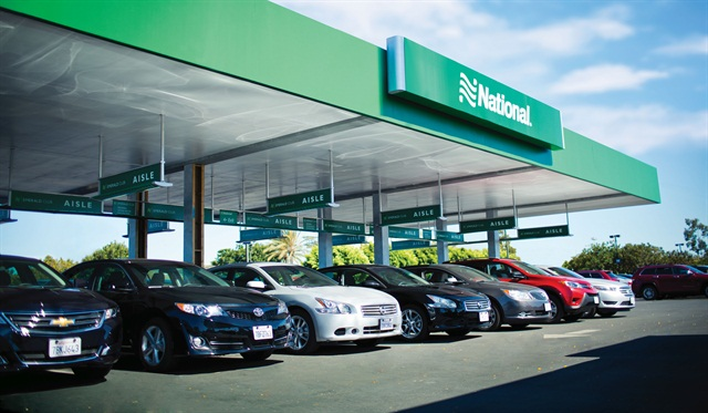 National Car Rental is one of Enterprise Holdings' brands that targets business travelers. Photo courtesy of National.