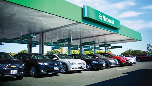 Photo courtesy of National Car Rental.