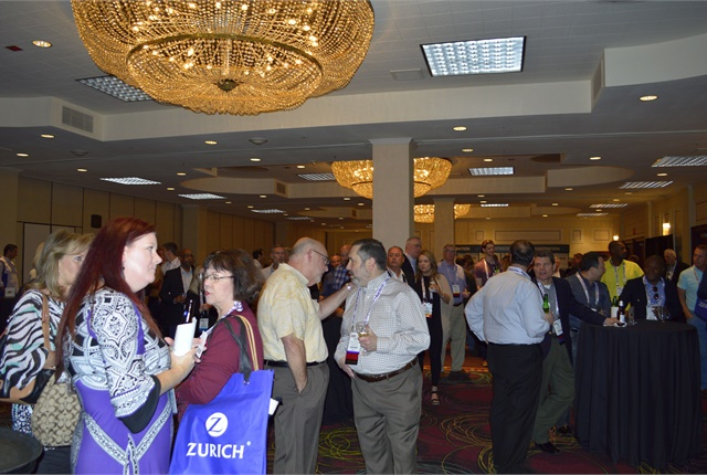 The show featured several opportunities for networking, including a cocktail hour and networking coffee breaks.
