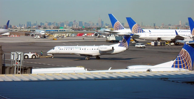 New Jersey's Newark Liberty International Airport. Photo via Wikimedia/Nikon