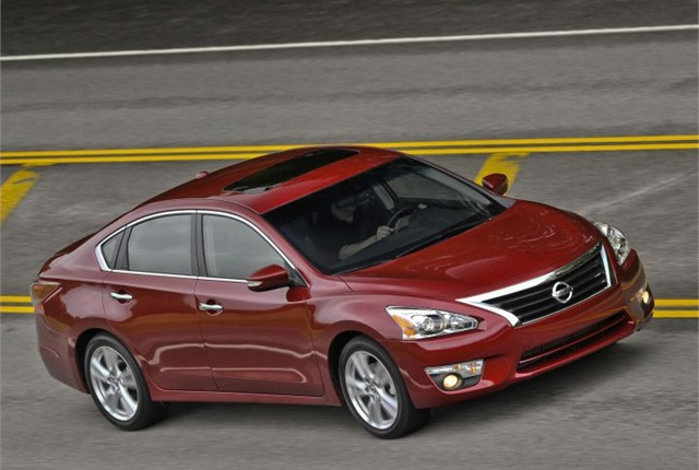 Photo of 2013 Altima courtest of Nissan.