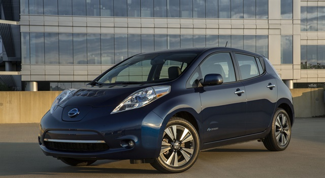 Green Commuter will feature a fleet of Nissan Leafs. Photo courtesy of Nissan.