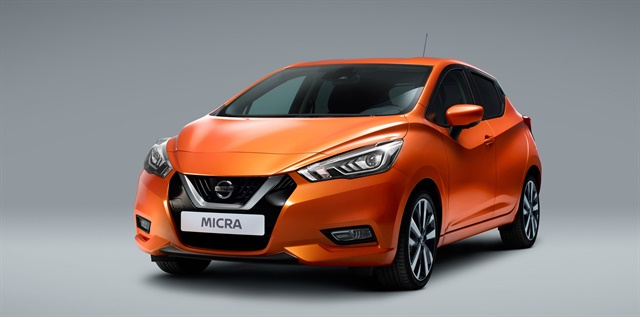 Nissan will be launching a carsharing purchase program with the new Nissan Micra hatchback. Photo courtesy of Nissan Europe.